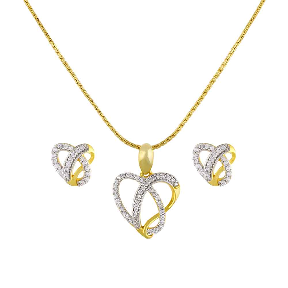 Jewelry-Sanorita Heart Pendant Set
