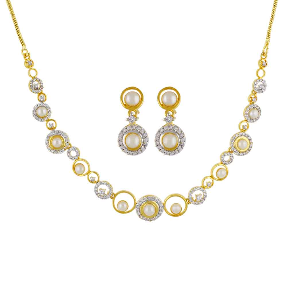 Jewelry-Classic Pearl Necklace