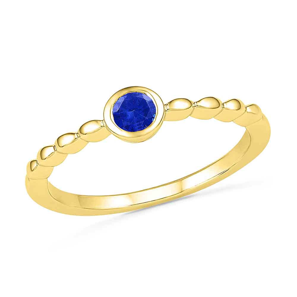 Jewelry-Electrifying Bluesapphire Finger Ring
