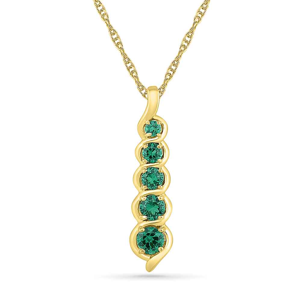 Jewelry-Incredible Emerald Pendant