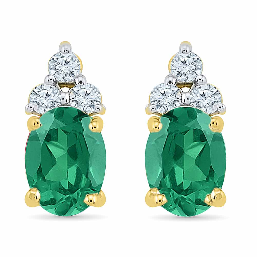 Jewelry-Astonishing Emerald Earrings