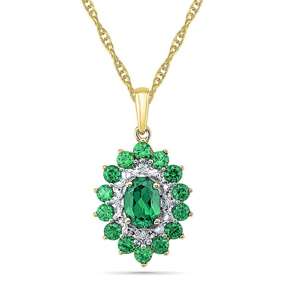 Jewelry-Hilarious Emerald Pendant
