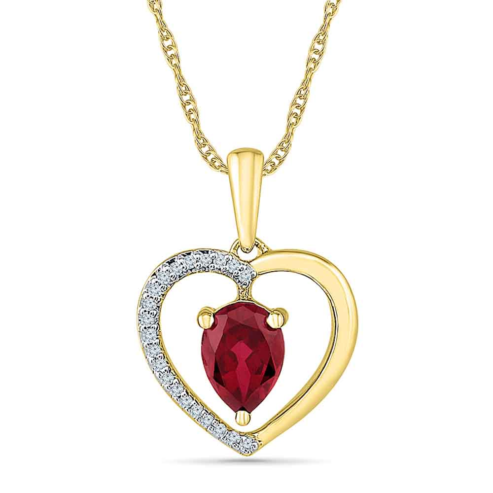 Jewelry-Magic Ruby Pendant