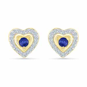 Jewelry-Cutie Blue Sapphire Earrings