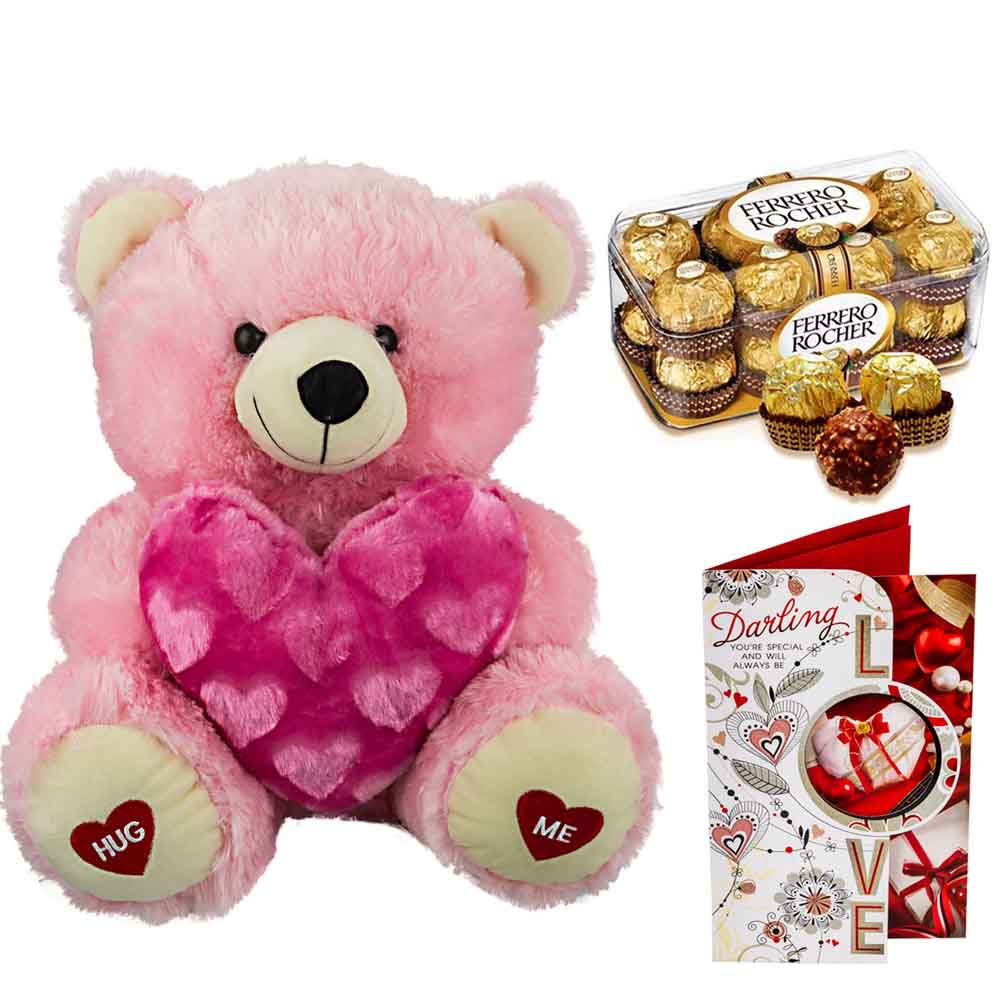 Sweet Nothings-Ferero Rocher with Cuddly Bear