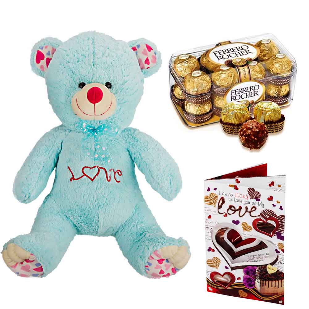 Sweet Nothings-Ferero Rocher with Cuddly Grand Bear