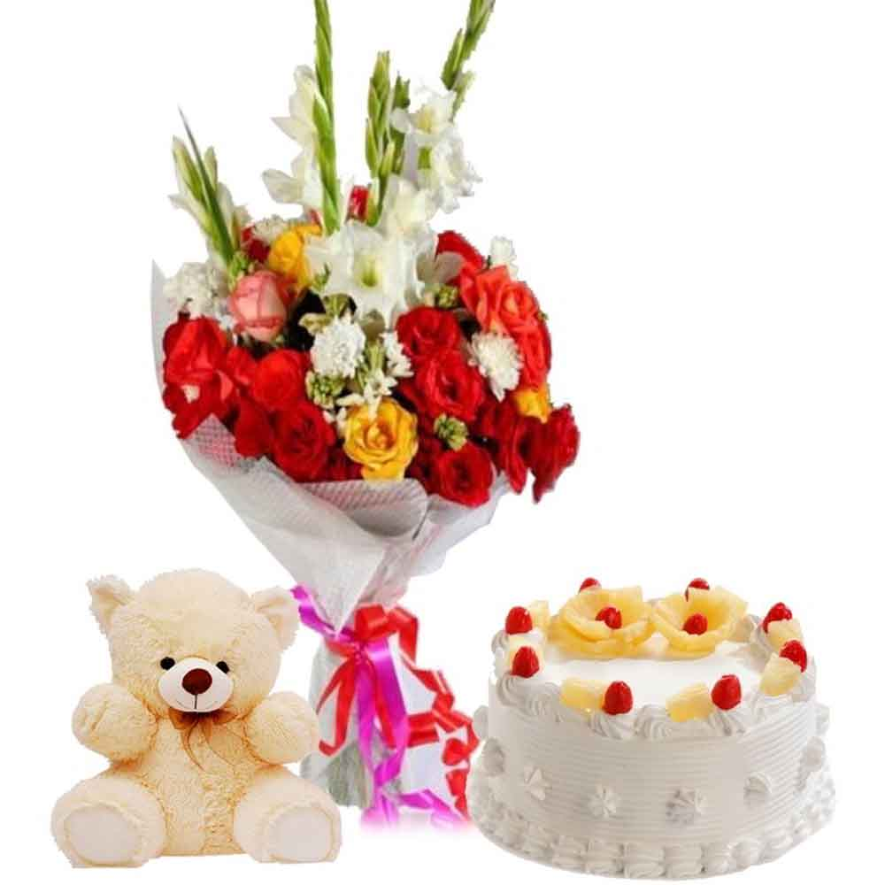 Teddy Hamper for Best Love
