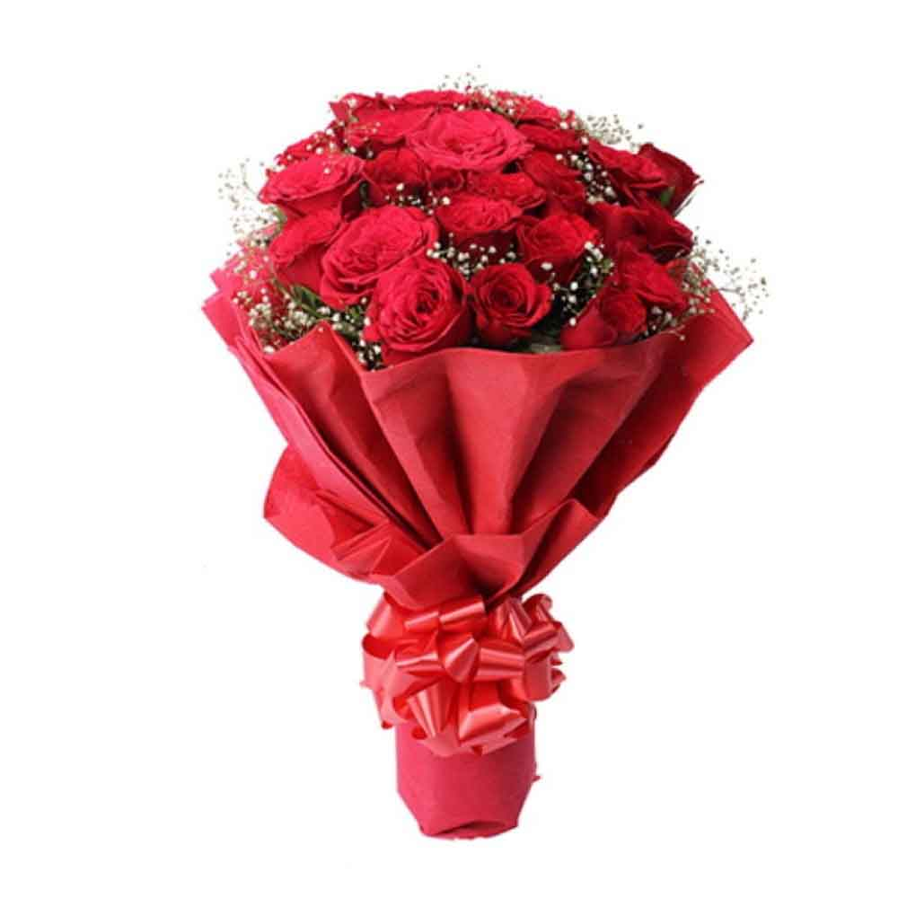 Valentine Roses-Valentine Magic of Twenty Red Roses