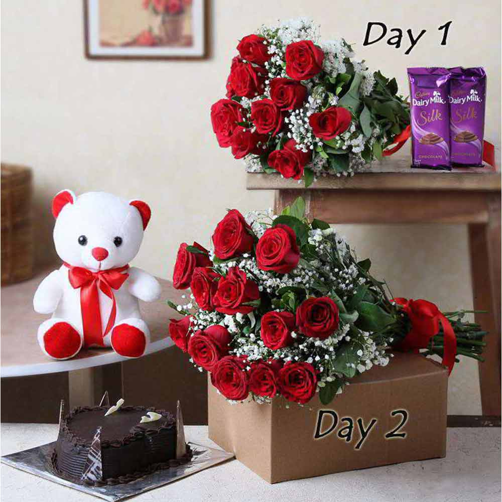 Two Days Serenade Gifts Delivery For Valentine