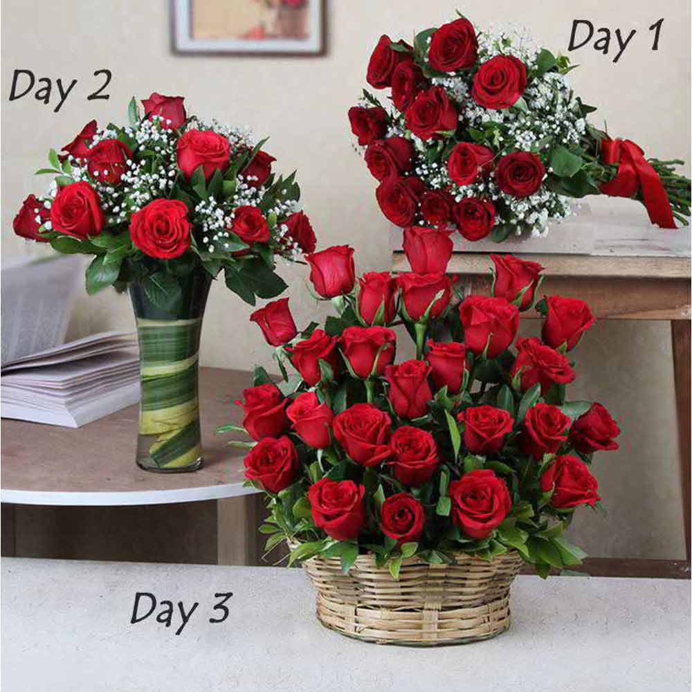 Three Days Surprise Gifts Delivery For Valentine