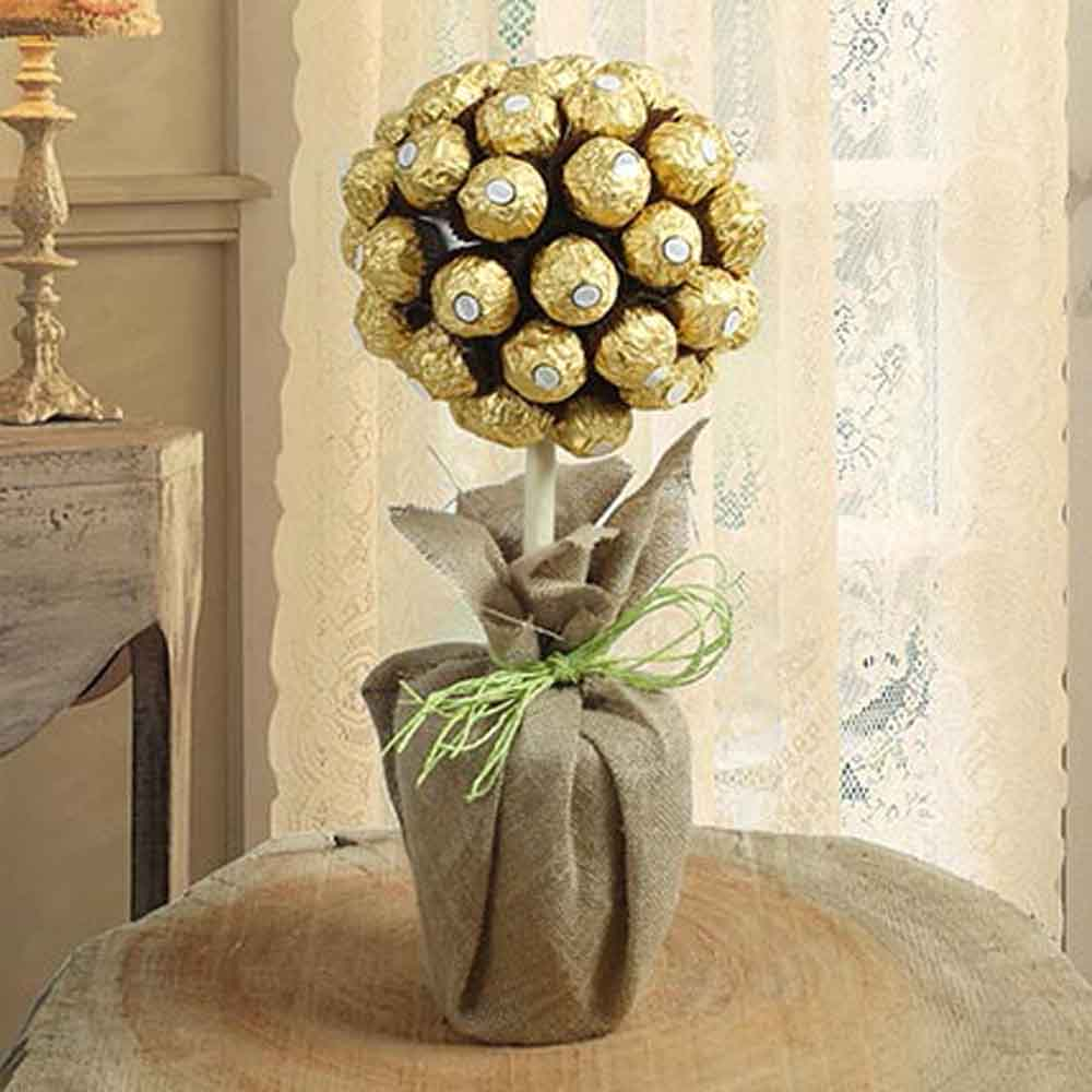 Topiary Chocolate Tree