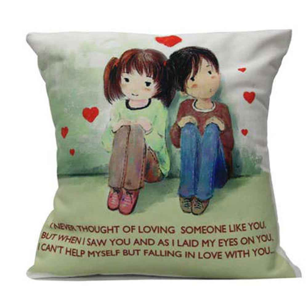 Romantic Toys-Cute Couple With Cushion Comfort