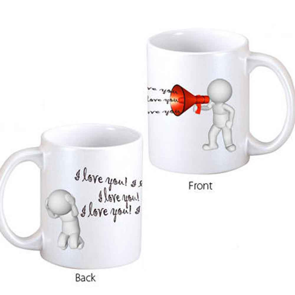 Out Loud Love Coffee Mug