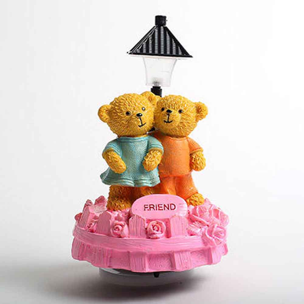 Romantic Toys-Cute Friend Teddy Showpiece