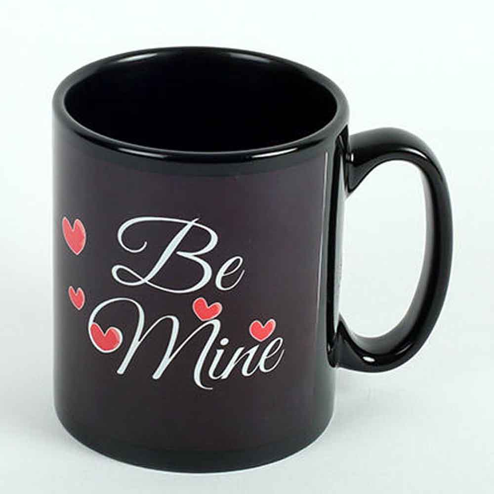 Be Mine Printed Ceramic Mug