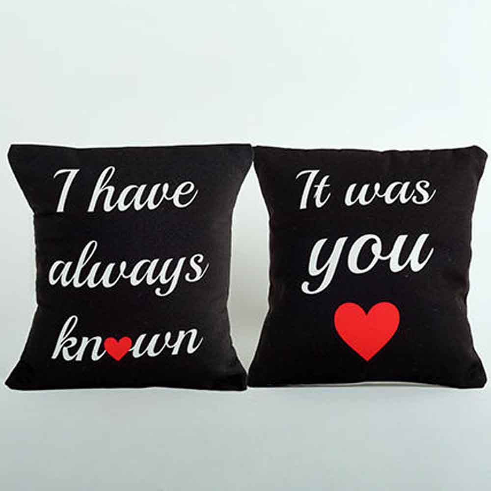 2 Printed Cushion Combo