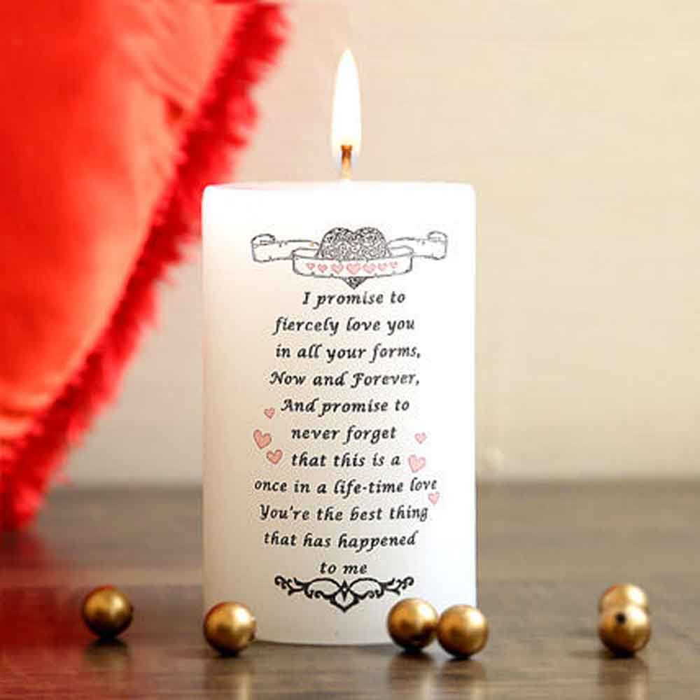 Romantic Toys-My Valentine Promise Candle