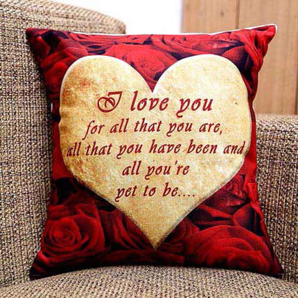 Romantic Toys-I Love You Cushion