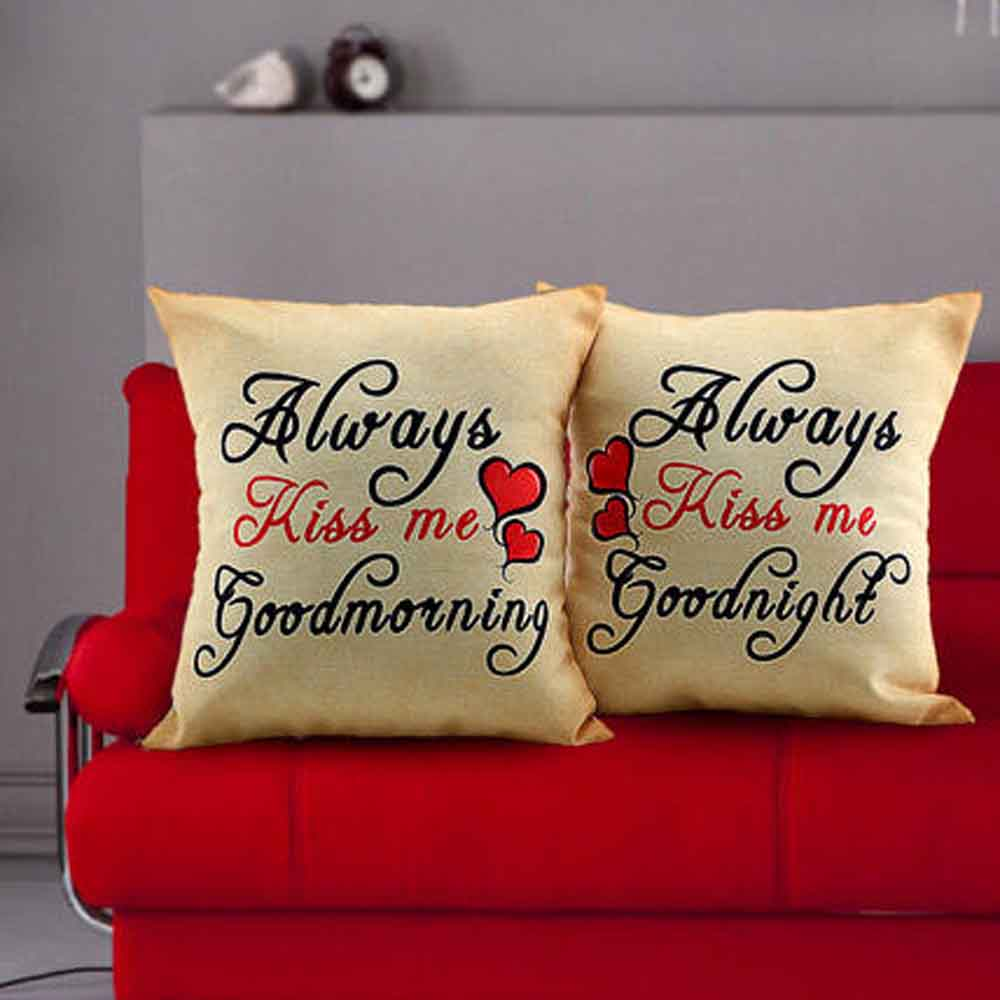 Romantic Toys-Always Kiss Me Cushions