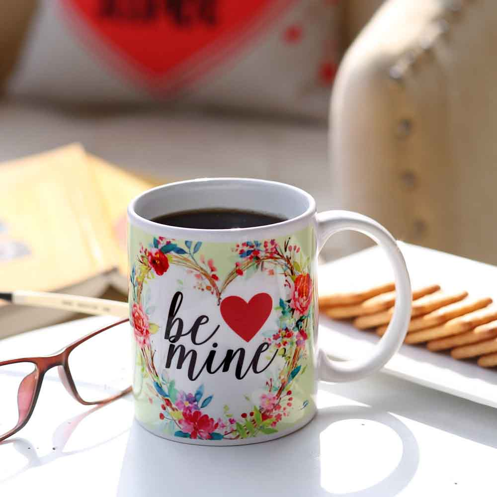 Romantic Toys-Be Mine Ceramic Mug