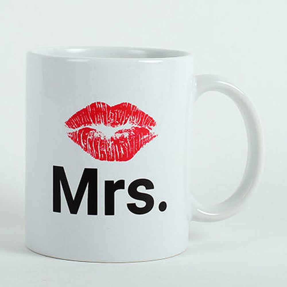 Mrs Lips Ceramic Mug
