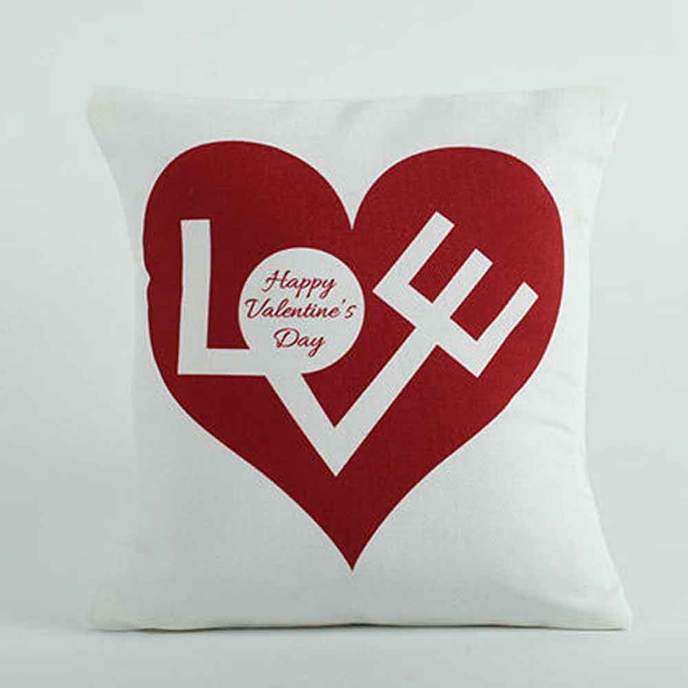 Romantic Toys-Love Cushion White