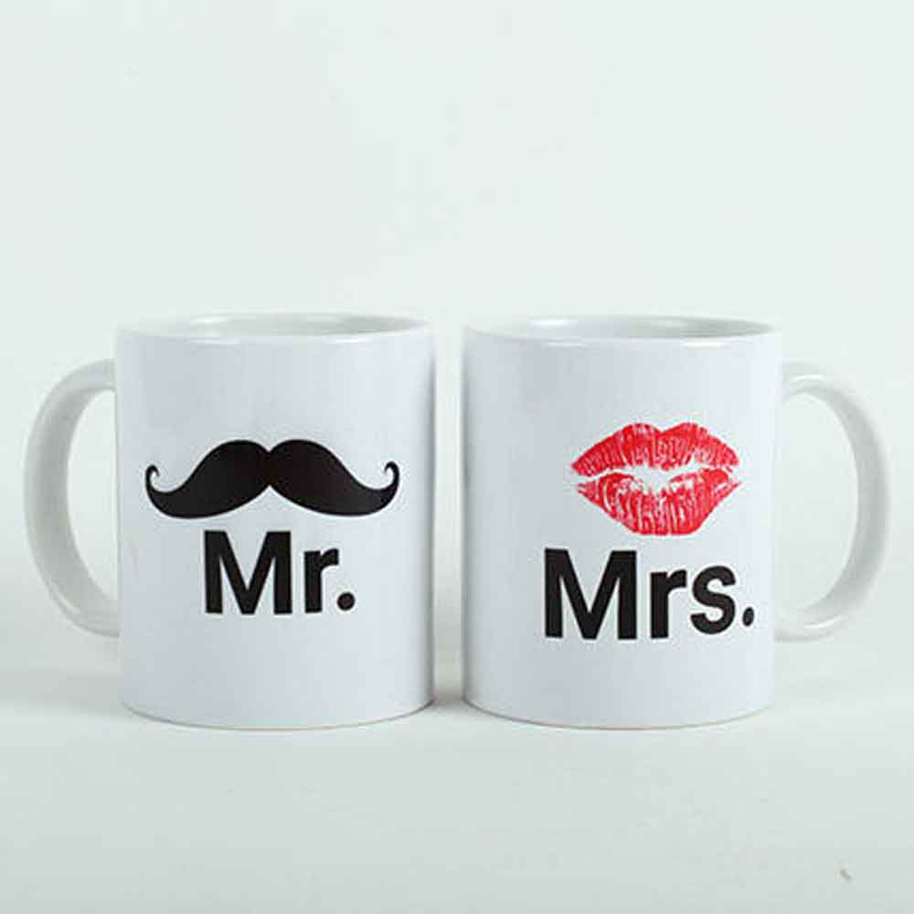 Mooch N Lips Couple Mugs