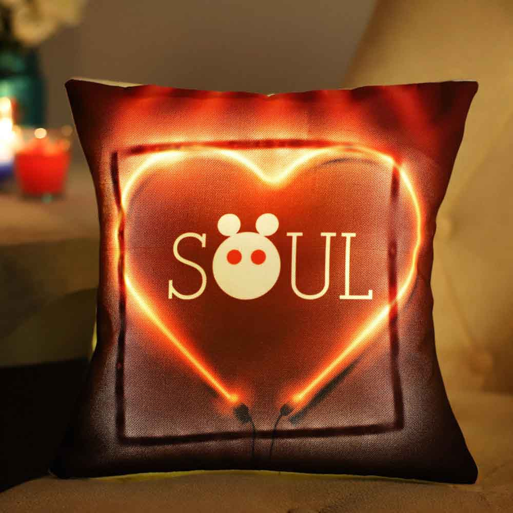 Heart & Soul LED Cushion