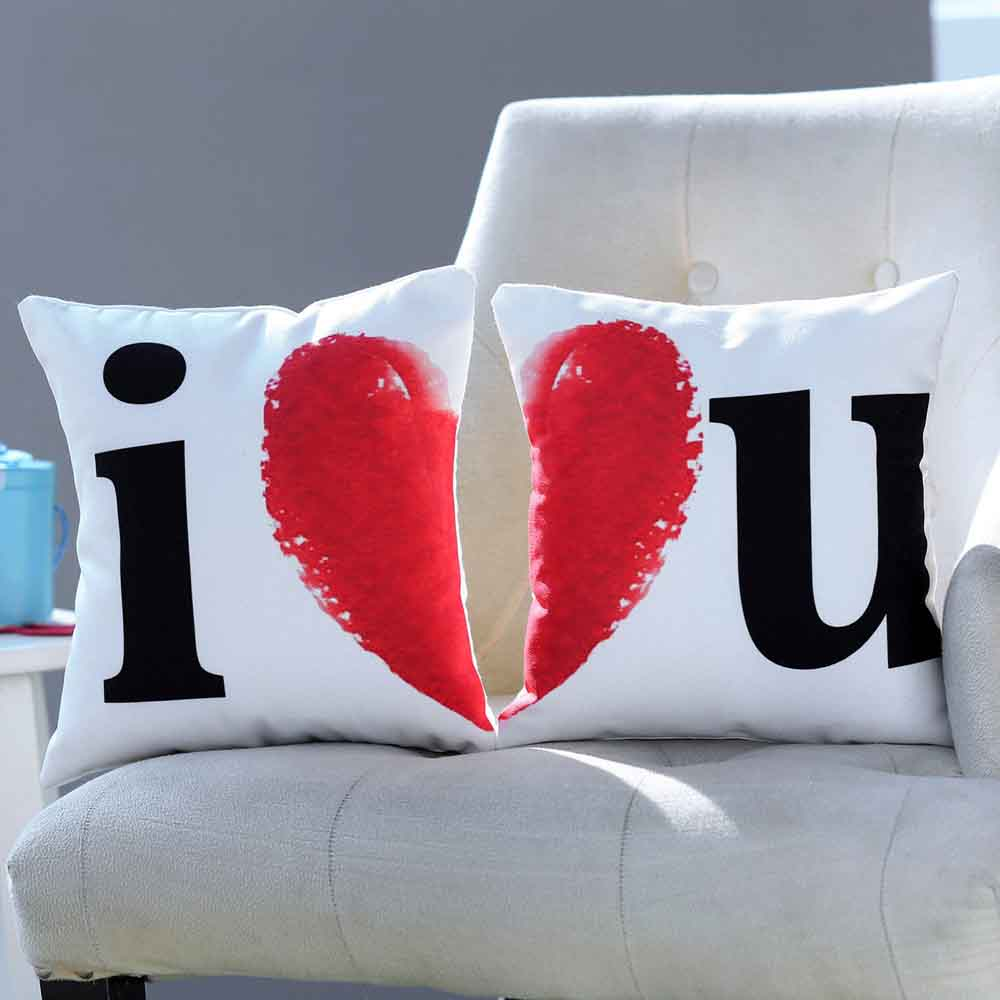 I Heart You Cushion Set