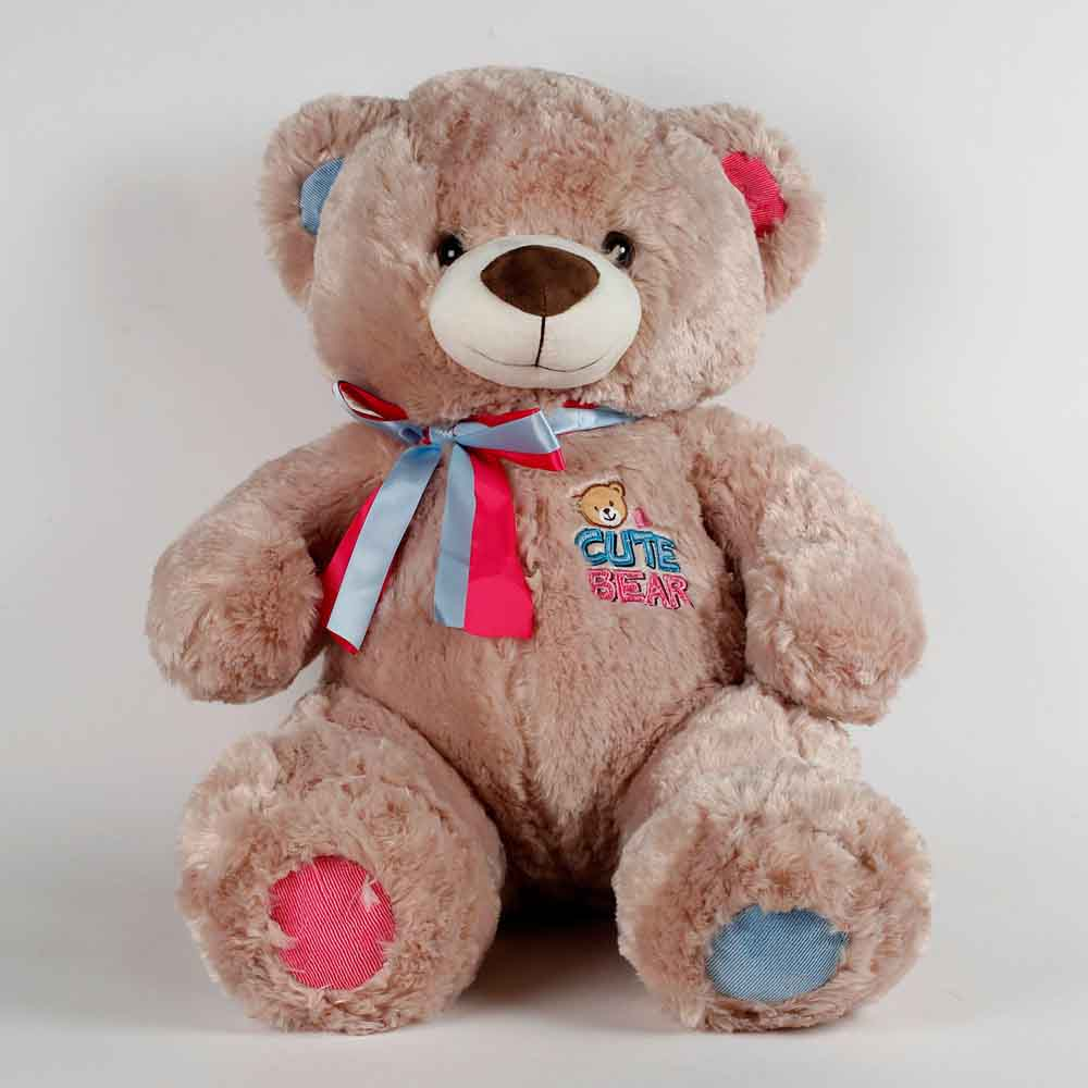 Romantic Toys-Large Teddy Bear Light Brown
