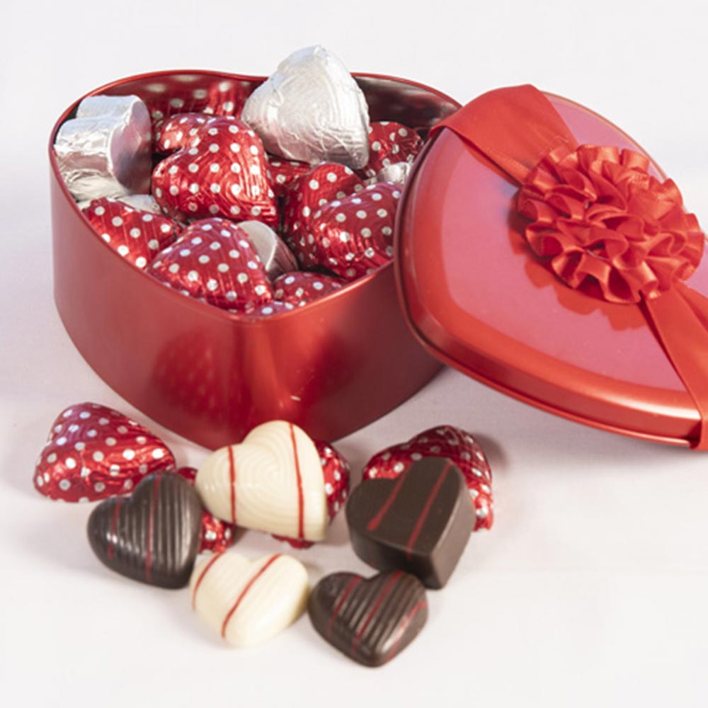 Valentine's Heart Divine Chocolate