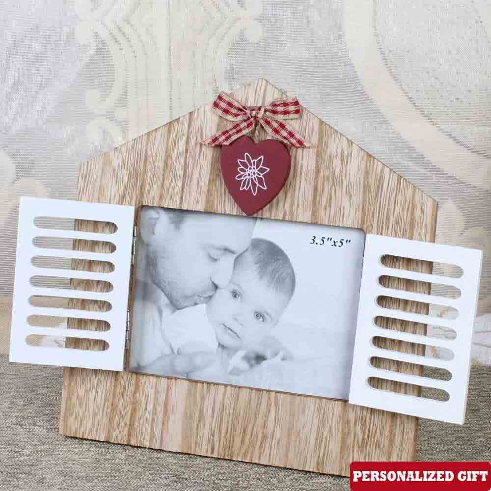 Customized House Shaped Wooden Frame