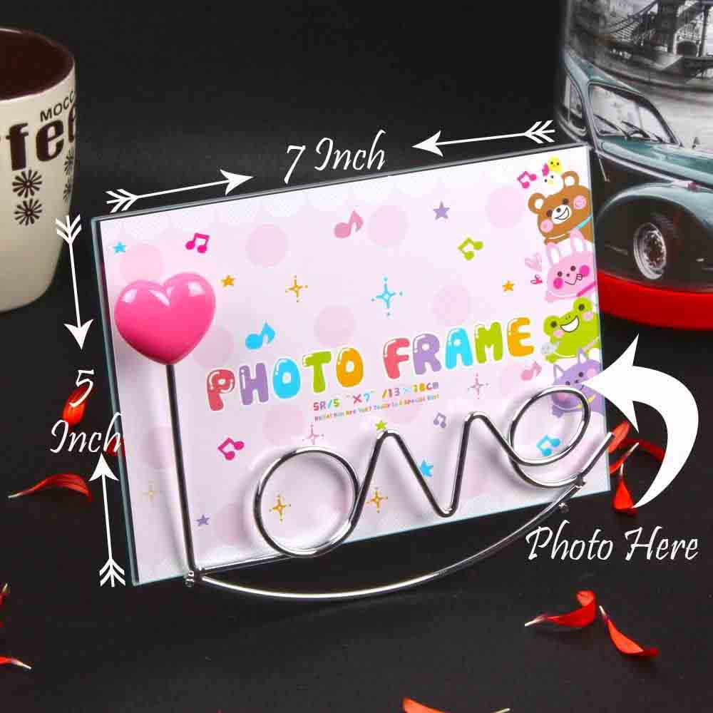 Love Stand Classy Table Top Photo Frame
