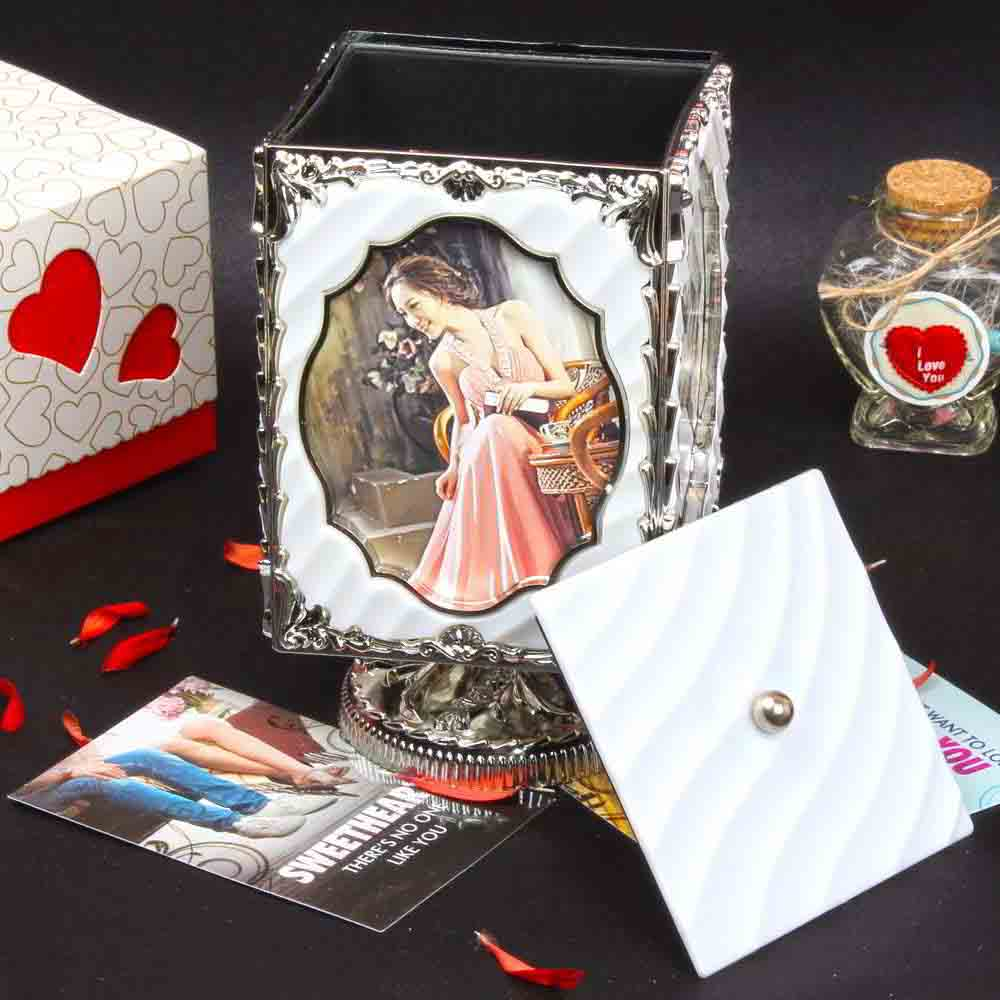 Roatating Personalized Photo Frame