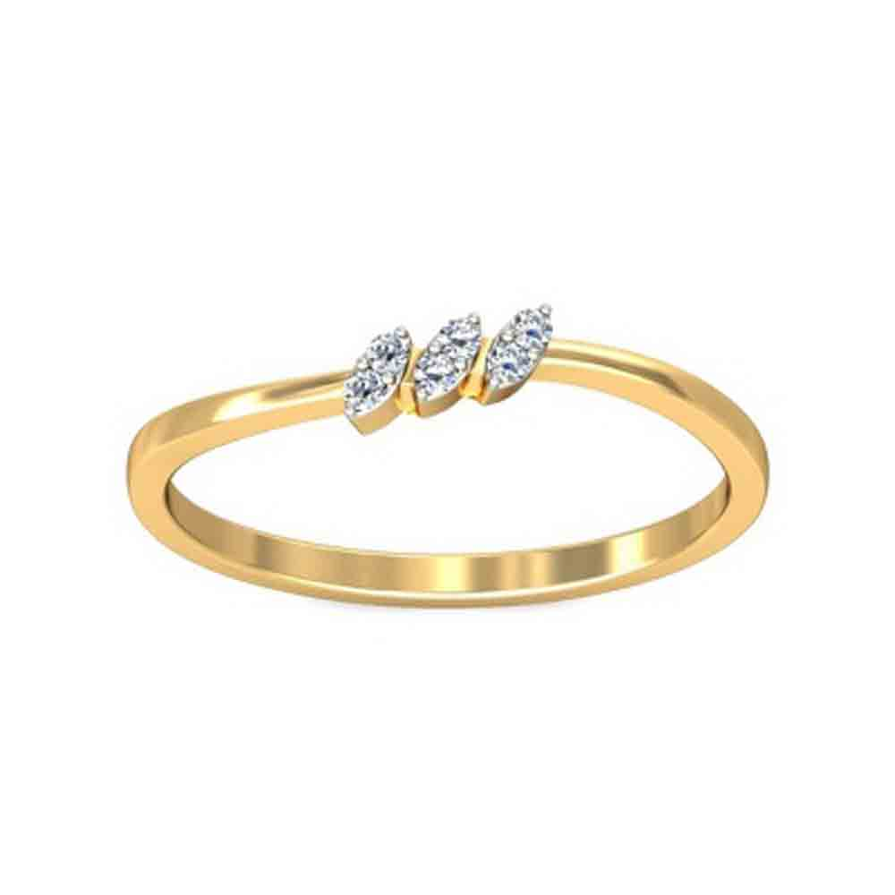 Jewelry-Mukta Diamond Finger Ring