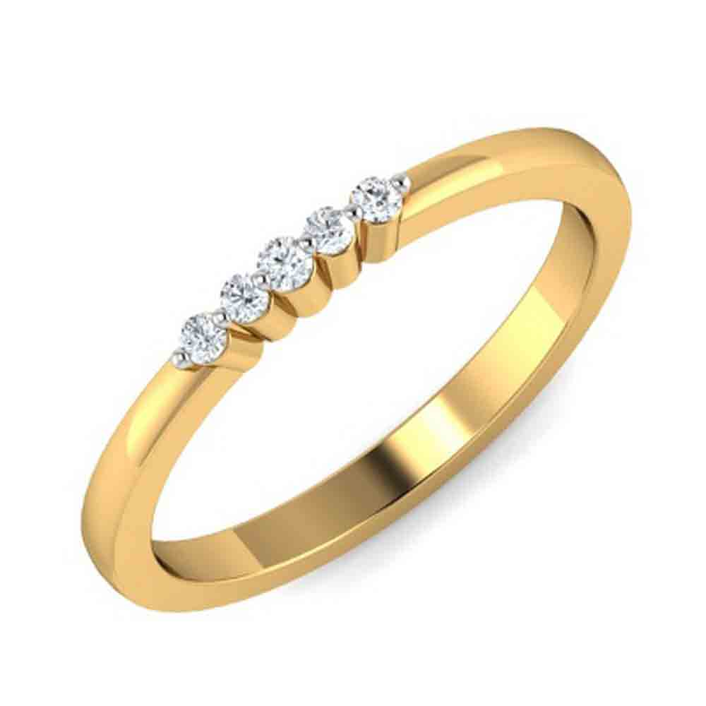 Jewelry-18Kt Diamond Finger Ring