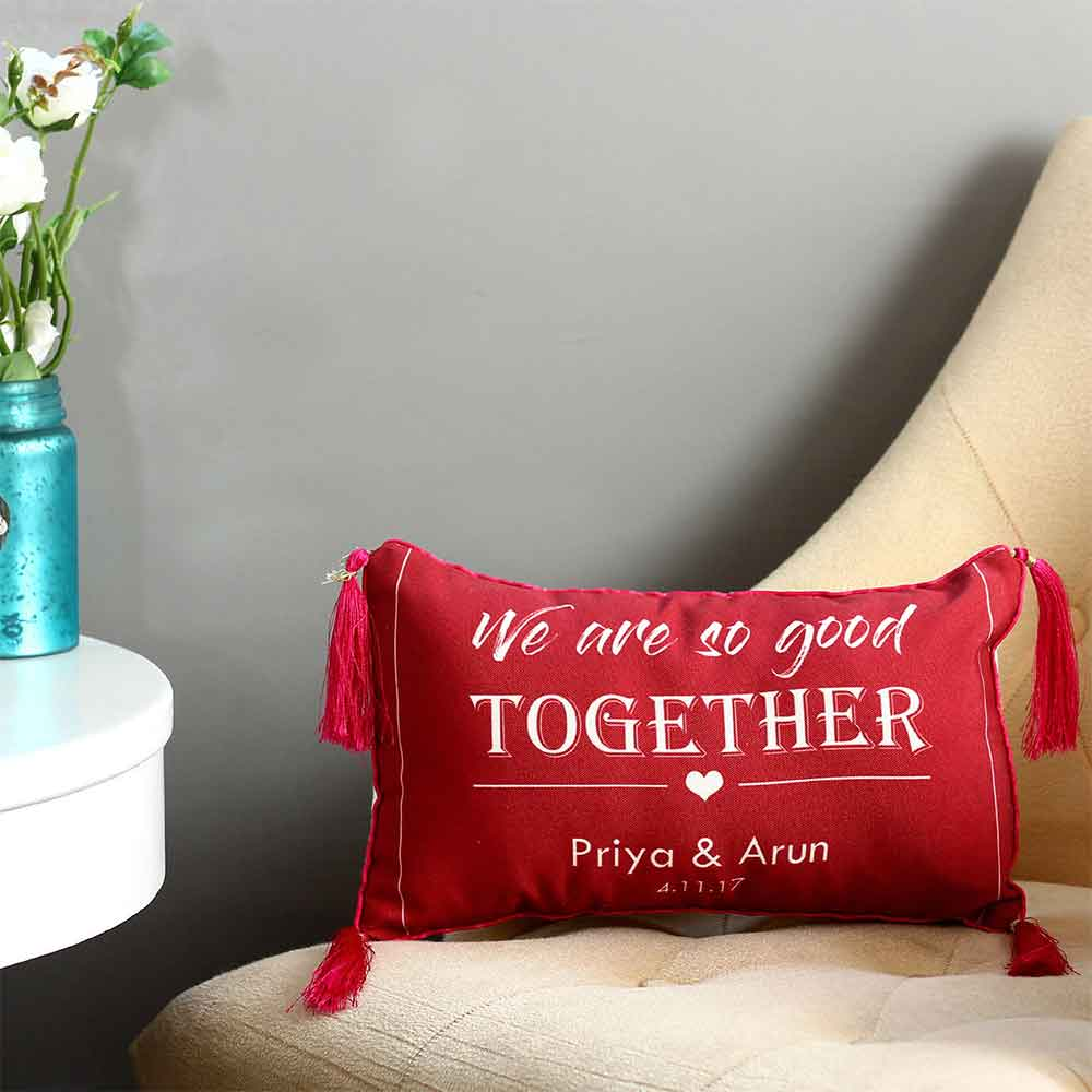 Personalised Good Together Cushion