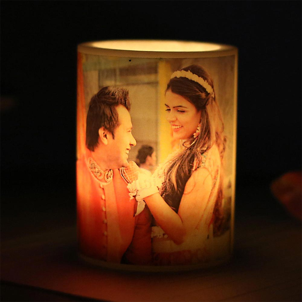 Me and You Personalized Candle