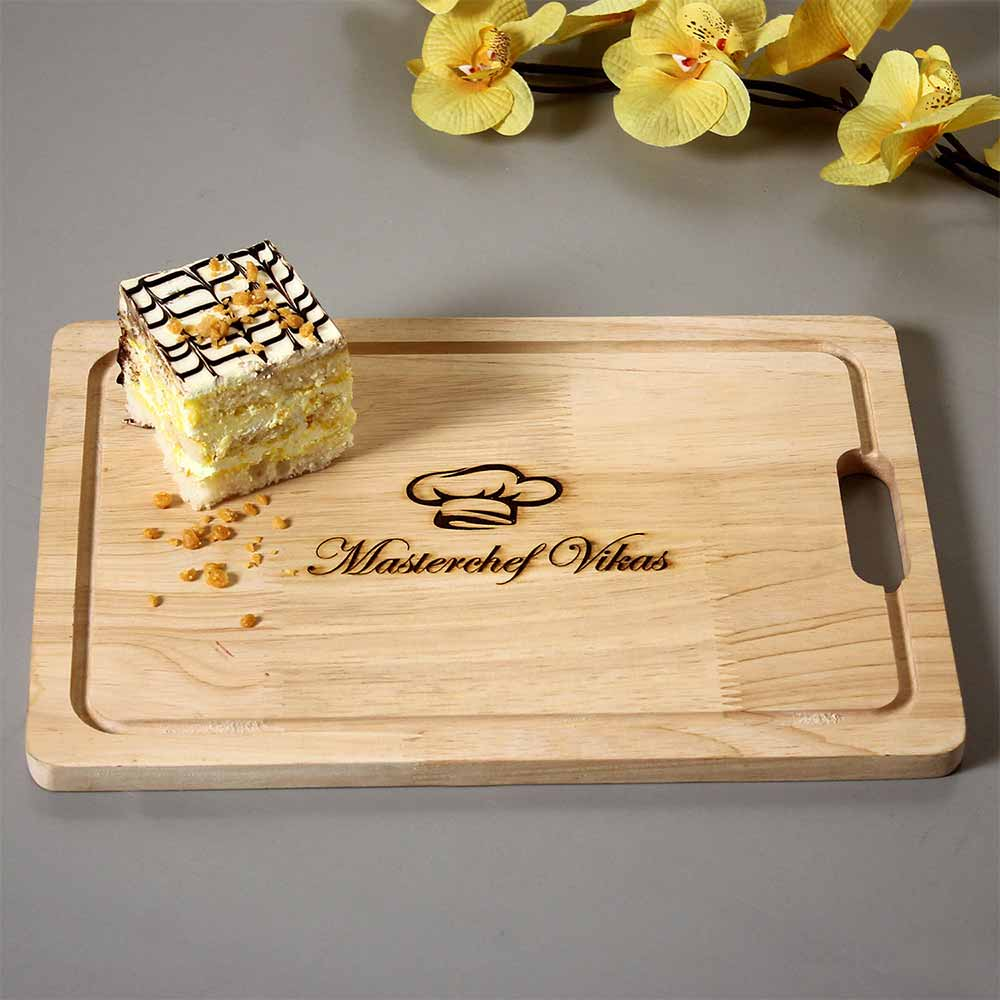 Personalized Gifts-Master Chef Personalised Engraved Board