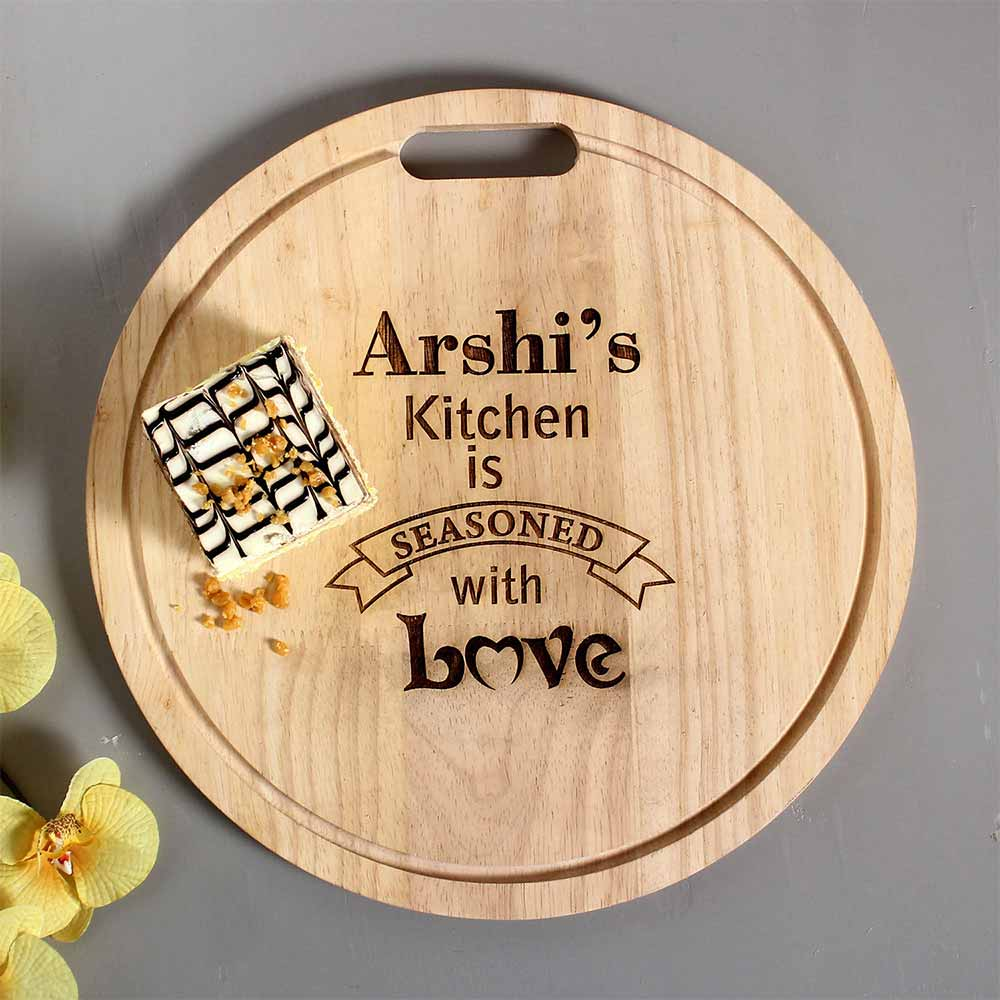 Personalised Engraved Quality Chopping Board