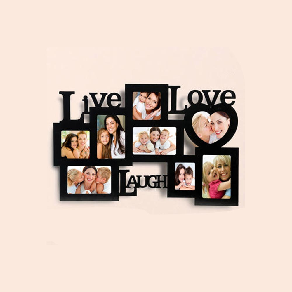 Personalized Live Love Laugh Frames