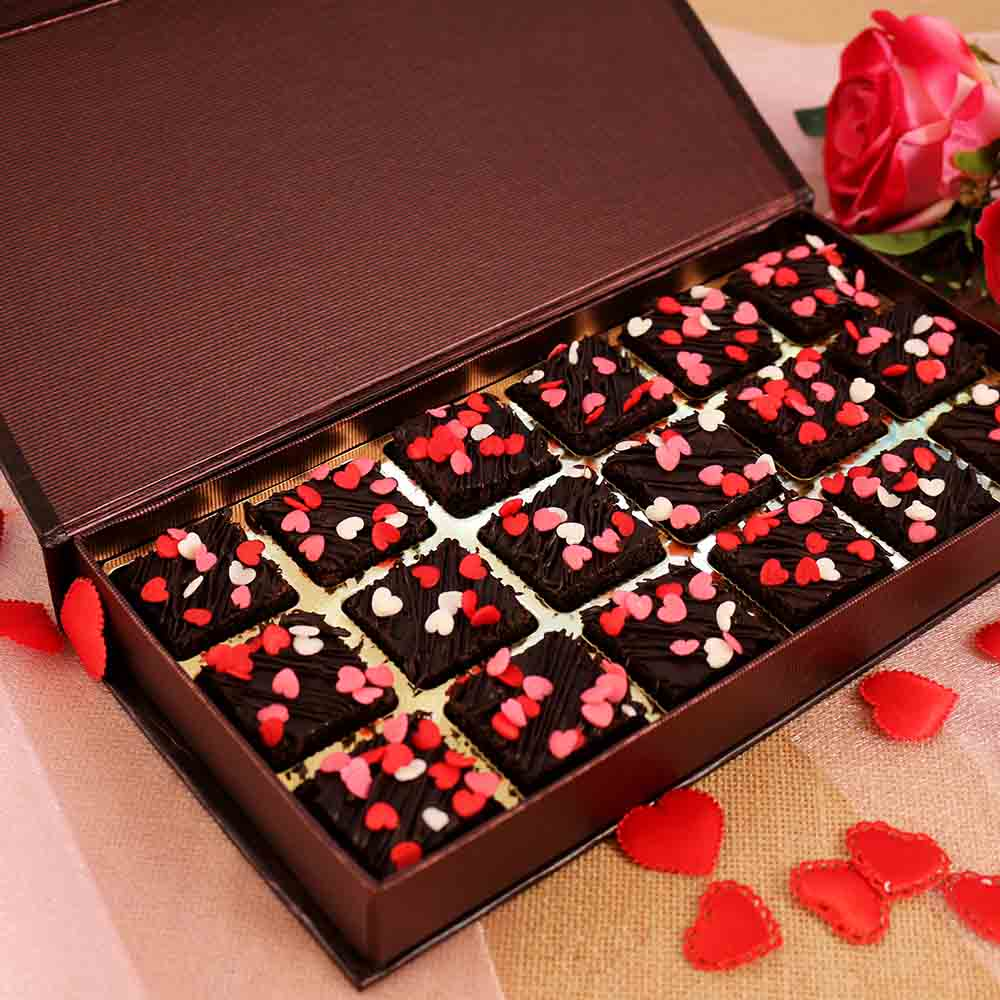 Chocolates-Velvet Fine Brownie Box