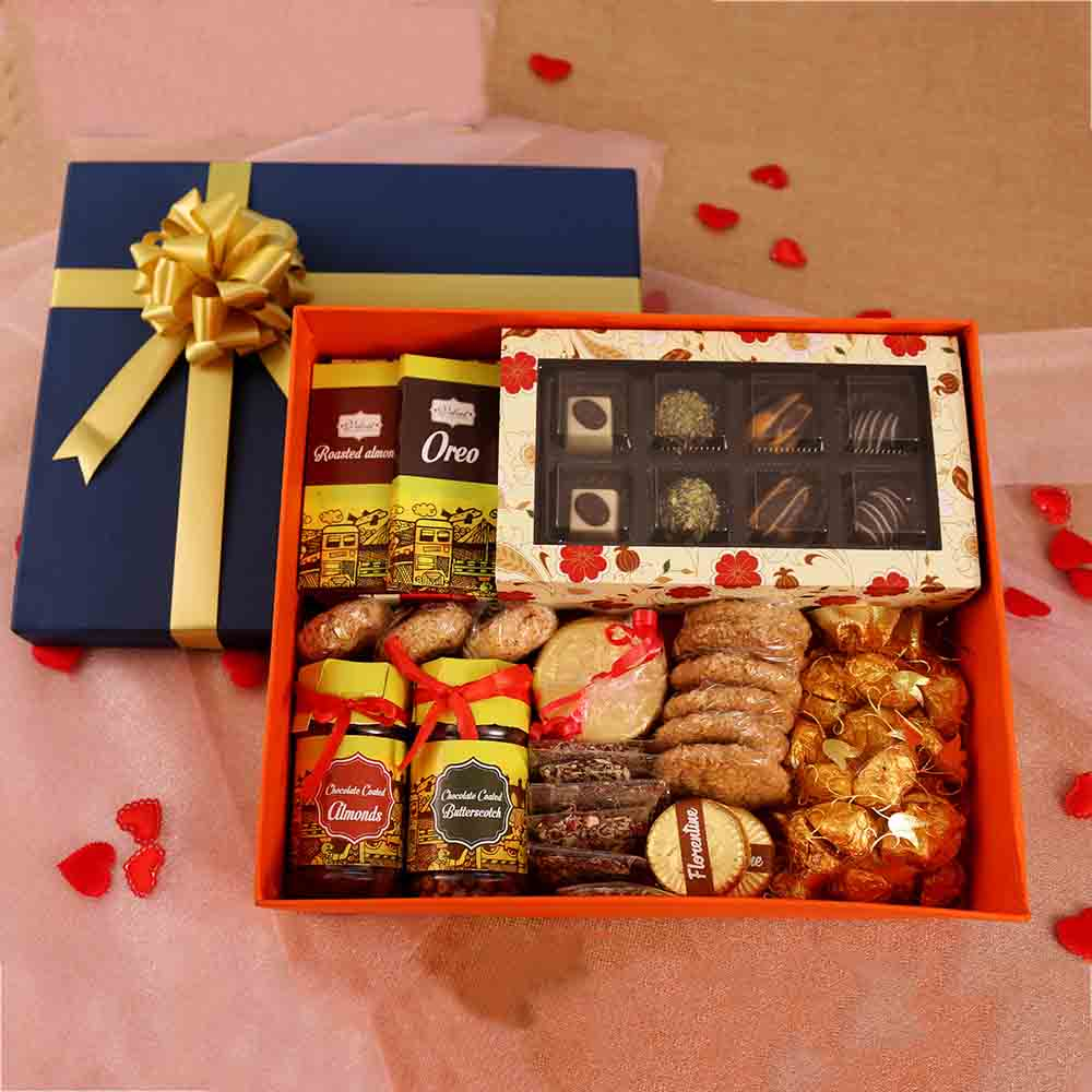 Velvet Fine Chocolates Delightful Hamper Box