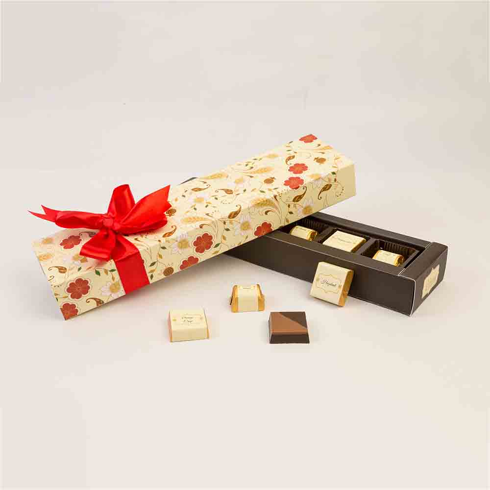 Velvet Fine 6 pcs Assorted chocolates