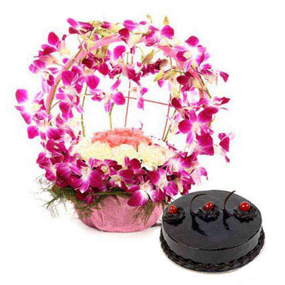 Purple Orchid n Cake Passion