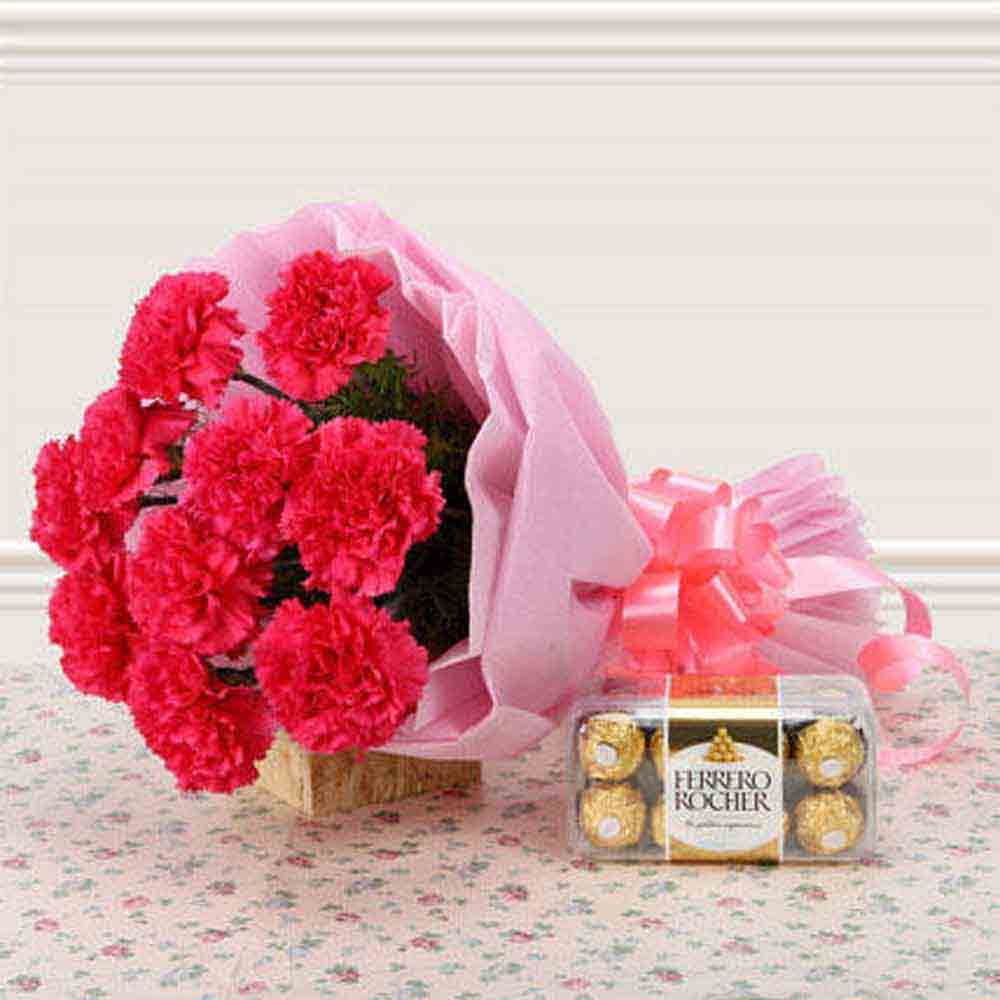 Flowers & Chocolates-Supernova Pink