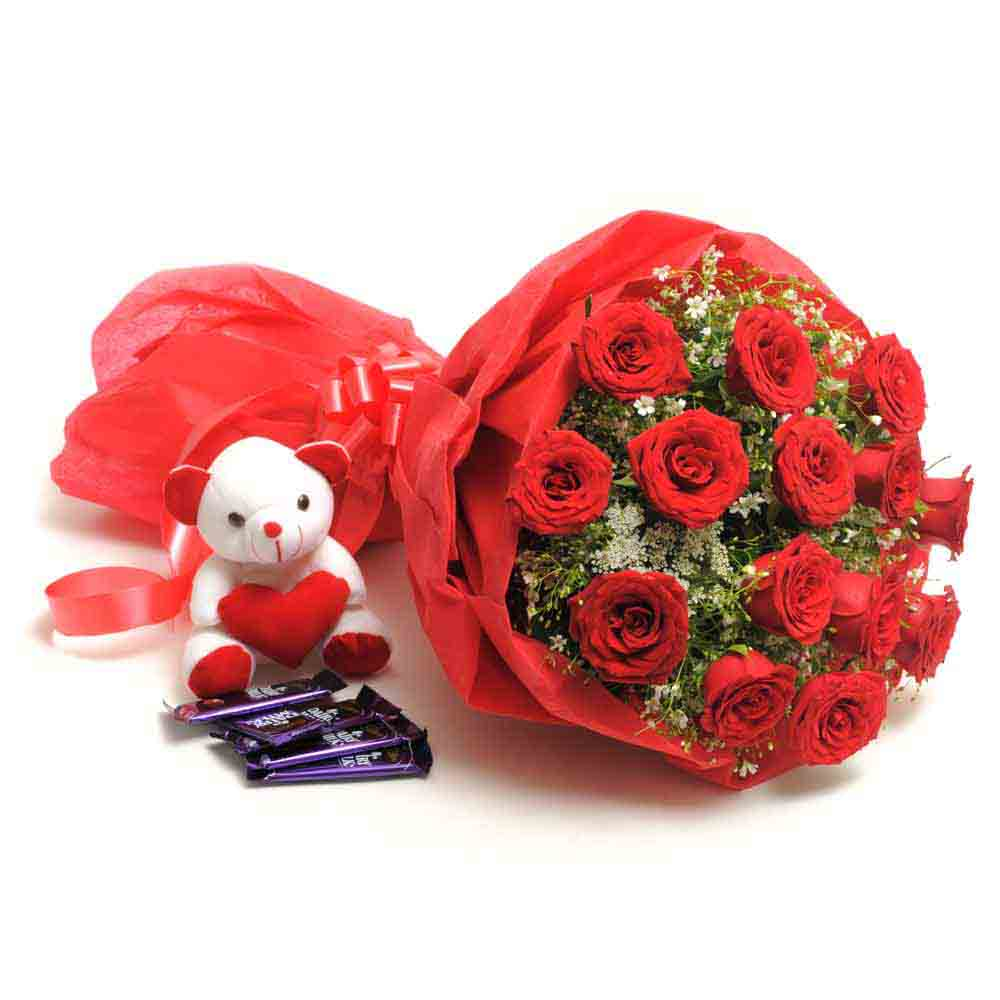 Soft Toy Hampers-Sweet Romance