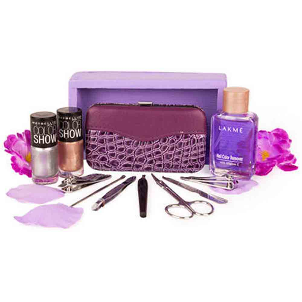 Valentine Hampers-Stylish Nail Care Kit