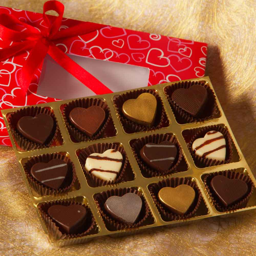 Say It with Love Valentine Chocolate
