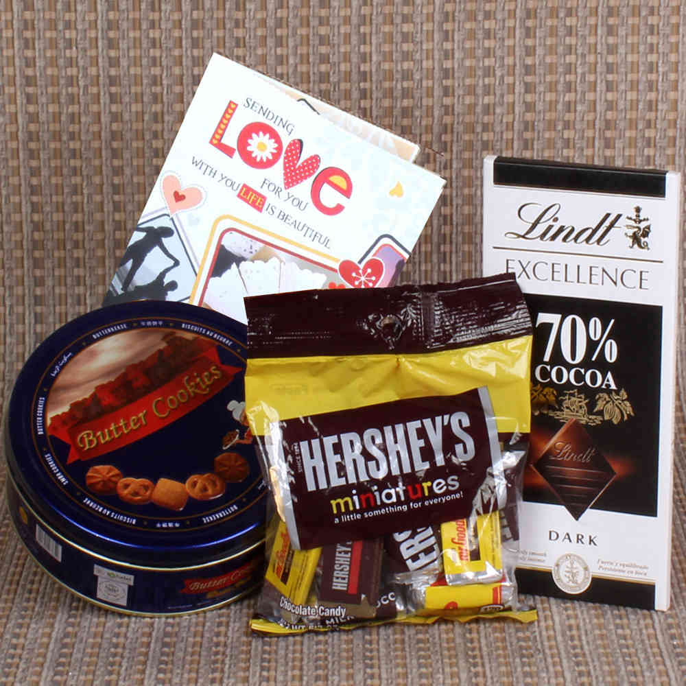 Imported Chocolates with Cookies Hamper